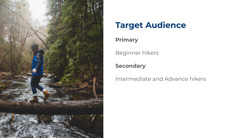 hikeIt Target Audience